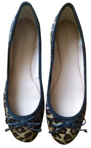 Banana Republic Calf-hair Ballet Leopard Flats