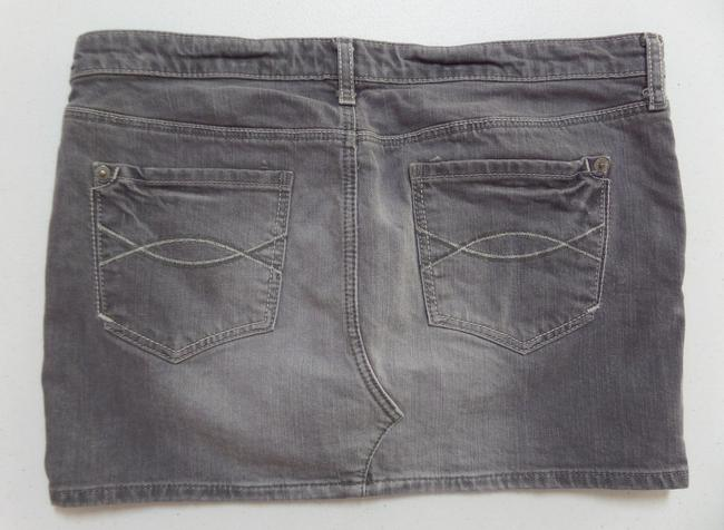 Abercrombie & Fitch Mini Skirt Gray
