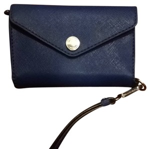 Michael Kors Cobalt Wristlet in Blue