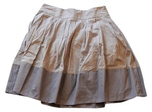 Anthropologie A-line Skirt gray