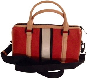 L.A.M.B. Satchel in Terracota Red