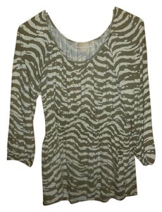 Michael Kors Zebra Babydoll Top Multi