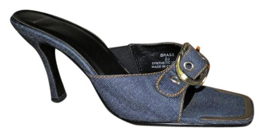 Wanted Blue Jean Pumps