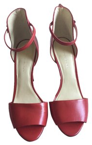 Bandolino Stiletto Peep Toe Red Sandals