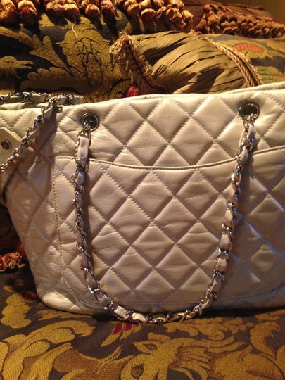 Chanel Tote in Irridicent/grey