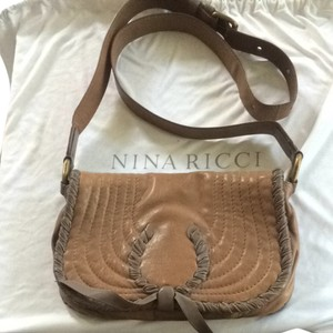 Nina Ricci Designer Side Pastel Cross Body Bag