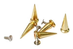 Other Gold Metal Bullet Studs