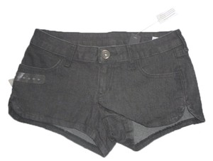 City Streets New Tags Denim Jean Ladies Jrs Boyfriend Sexy Mini/Short Shorts black