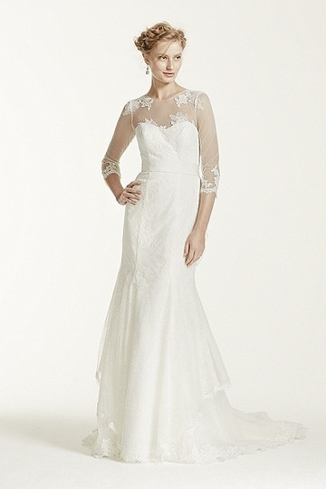 Mellissa Sweet Gown- Traditional Chantilly Lace Ms251089 Wedding Dress