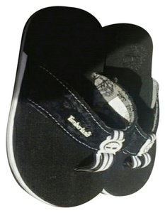 Timberland BLACK/WHITE Sandals