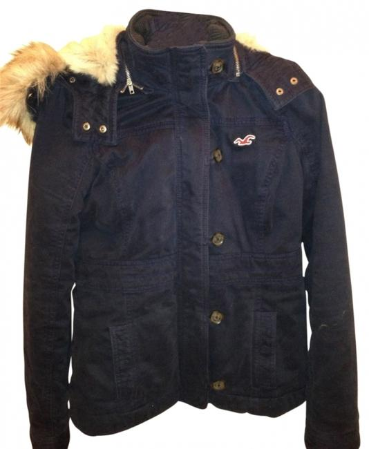 Hollister Navy Blue Womens Jean Jacket