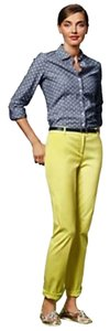 Talbots Relaxed Pants Citron