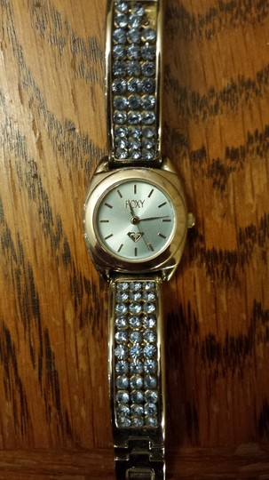 Roxy Roxy silver watch with blue crystals