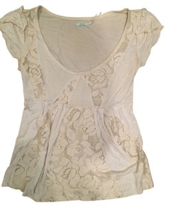 Urban Outfitters Top Cream