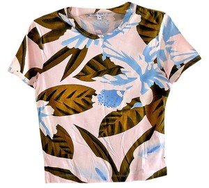 Club Med Resort Exclusive T Shirt floral