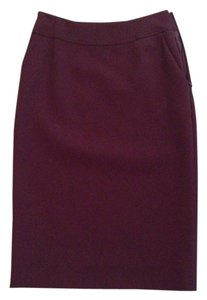 Salvatore Ferragamo Skirt Wine