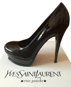 Saint Laurent Black Patent Leather Pumps