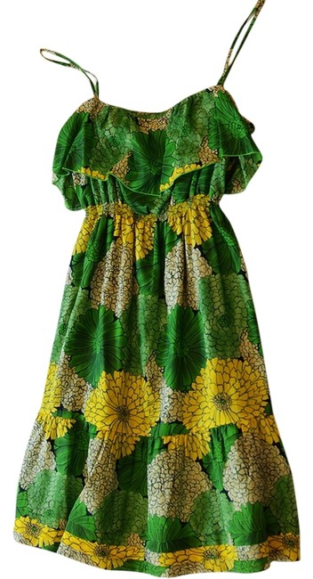 Preload https://item4.tradesy.com/images/juicy-couture-floral-print-dress-green-3185413-0-0.jpg?width=400&height=650