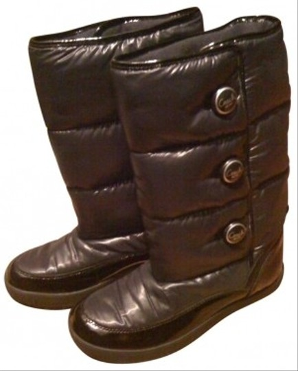 Coach Snow Black Boots