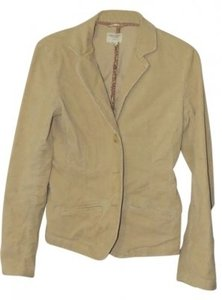 American Eagle Outfitters Boyfriend Stretch Relaxed Fit Cor Camel Blazer