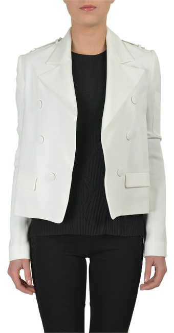 Preload https://item4.tradesy.com/images/just-cavalli-white-women-s-blazer-size-4-s-3186553-0-0.jpg?width=400&height=650