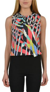 Just Cavalli Multi-Color Halter Top