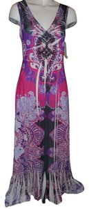 multi Maxi Dress by One World