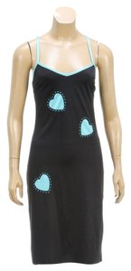 Moschino short dress Black/Blue on Tradesy