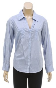 Joie Button Down Shirt Blue