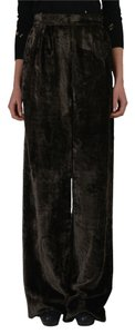 Maison Martin Margiela Boot Cut Pants Brown