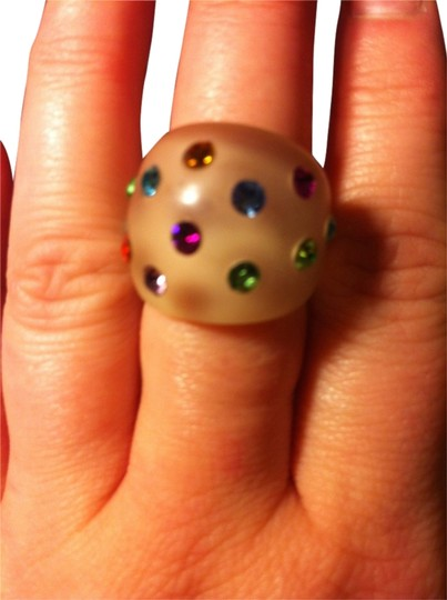 Marc by Marc Jacobs Marc By Marc Jacobs BRAND NEW without tags Beautiful Multi-Colored Ring.. Size 7.5 12 Stones Different Colors.. PERFECT CONDITION..LIKE NEW..Retail $68