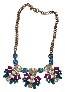 J.Crew J Crew Crystal and Jewel necklace