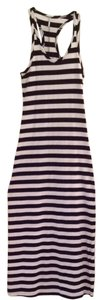 Black & White Maxi Dress by Tresics Maxi Striped