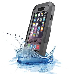 iPhone 6 Waterproof Case in Black
