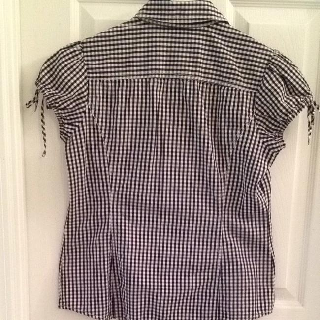 Tommy Hilfiger Top Black And White