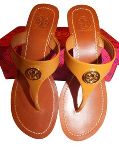 Tory Burch Tan/Gold-206 Wedges