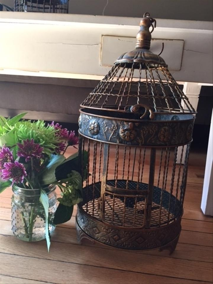 Save on crafts metallic vintage birdcage decor reception for Save on crafts wedding