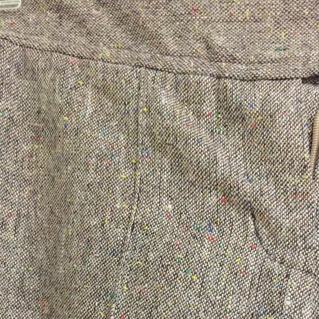 Gadzooks Capris Brown With Multi Specks Mostly Gold