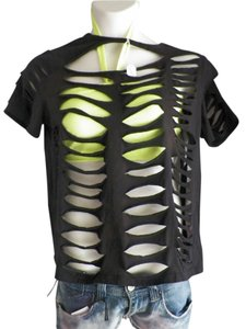 Fashion Felon X T Shirt black/ neon yellow
