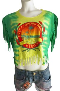 Other Fashion Felon X Recycled Fashions Hippie Style Eco Green Cloths T Shirt multi
