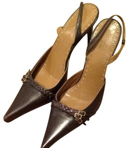 Daslu Basic Dark Brown Pumps