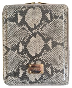 Michael Kors Michael Kors Python Leather iPad Case - New!