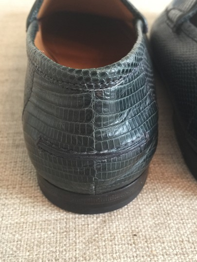Gucci Loafer Italian Exotic Limited Edition Green Formal