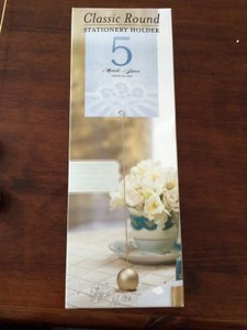 WeddingStar Inc. Gold Classic Round Table Number Holder - Reception Decoration