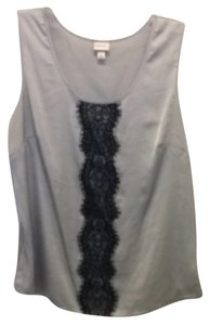 Merona Top Silver Embellished