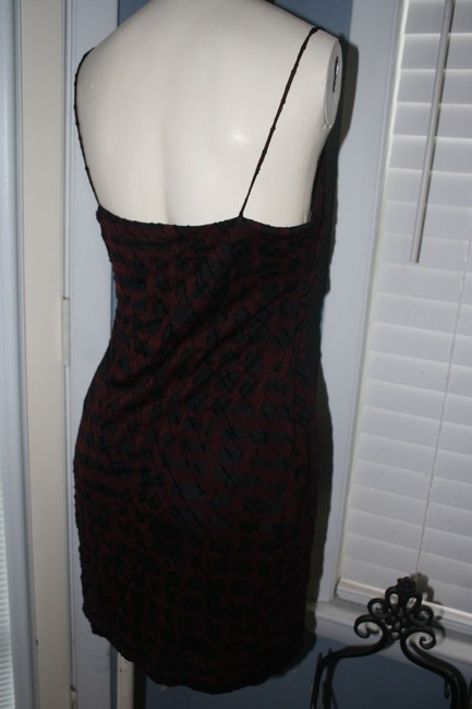 Guess short dress RED and BLACK on Tradesy