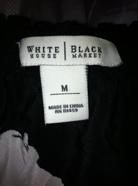 White House | Black Market Top White and Black