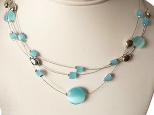 Lia Sophia Blue Lagoon Necklace