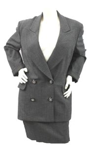 Gianfranco Ferre Gianfranco Ferre Made in Italy Wool Spandex Blend Skirt Suit 44