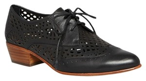 Dolce Vita Oxford Leather Orina Black Flats